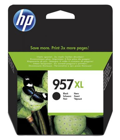 Картридж HP 957XL для HP OfficeJet Pro 8720 OfficeJet Pro 8210 OfficeJet Pro 8730 3000стр Черный L0R40AE принтер hp officejet pro 8210 черный