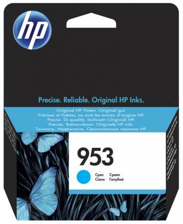 Картридж HP 953 F6U12AE для HP OJP 8710/8720/8730/8210 голубой 700стр картридж hp 953 f6u14ae для hp ojp 8710 8720 8730 8210 желтый 700стр