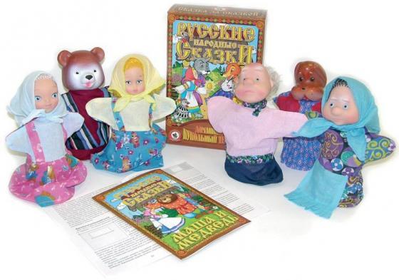 Игровой набор Русский Стиль Маша и медведь 6 предметов 11203 игровой набор русский стиль три медведя 4 предмета 11064