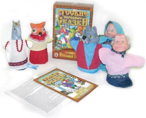 Кукольный театр Русский Стиль Битый небитого 6 предметов 11205 кукольный театр русский стиль