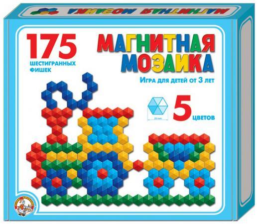 Мозайка Десятое королевство магнитная шестигранная 20/5цв/ 175шт 00959 магнитная мозаика десятое королевство город 266 элементов