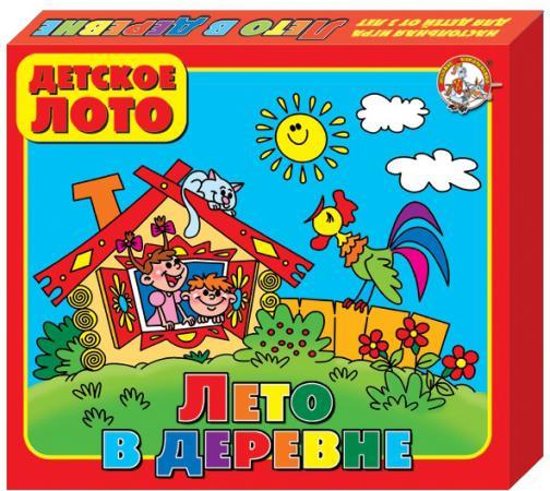 Фото - Настольная игра лото Десятое королевство Лето в деревне 00080 настольные игры десятое королевство лото детское мамины помощники