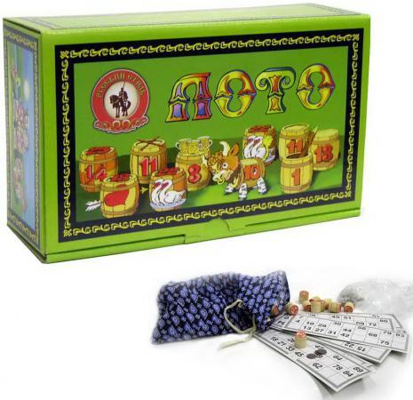 Настольная игра лото Десятое королевство деревянное 02001