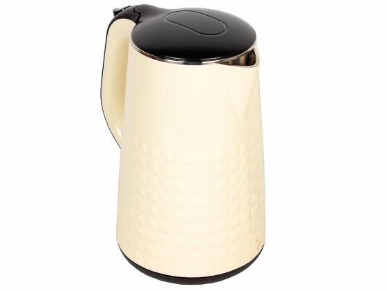 Чайник ENDEVER KR-238S 2300 Вт 1.7 л металл/пластик бежевый endever kr 306g