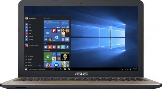 Ноутбук ASUS X540LJ 15.6 1366x768 Intel Core i3-5005U 500 Gb 4Gb nVidia GeForce GT 920M 1024 Мб черный DOS 90NB0B11-M09330 ноутбук asus k501lb 15 6 intel core i5 5200u 1tb 6gb dos nvidia gf940 2gb black