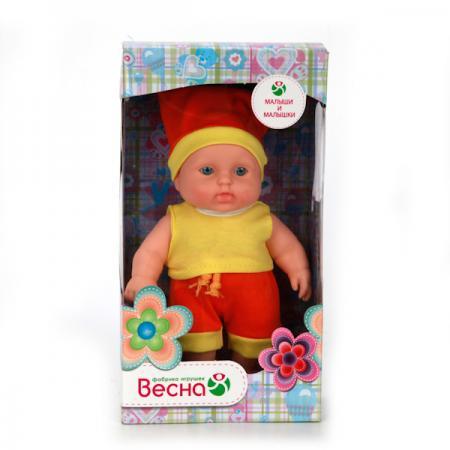 Кукла Весна Карапуз 2 20 см В519 весна кукла карапуз 16 весна