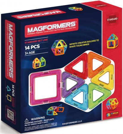 Магнитный конструктор Magformers Rainbow 14 элементов 63069/701003 конструкторы magformers магнитный pastelle 14 63096