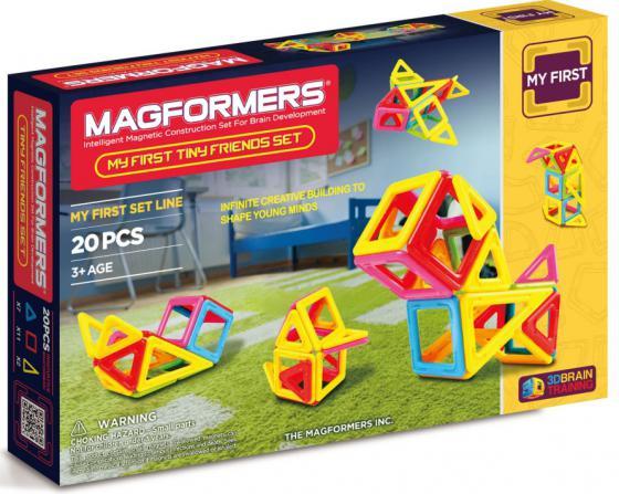 Магнитный конструктор Magformers Tiny Friends 20 элементов 63143/702004 magformers tiny friends
