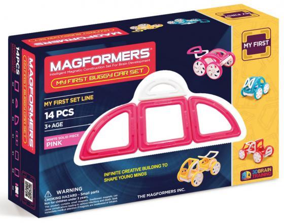 Магнитный конструктор Magformers My First Buggy 14 элементов 63147/702008 конструкторы magformers магнитный pastelle 14 63096