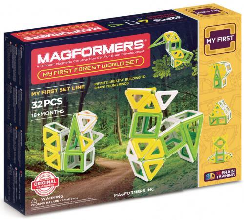Магнитный конструктор Magformers My First Forest 32 элемента 702009 magformers магнитный конструктор my first forest 32 set