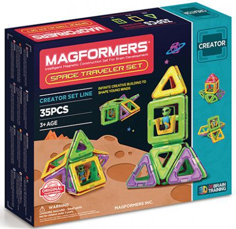 Магнитный конструктор Magformers Space Treveller Set 35 элементов 703007 цены