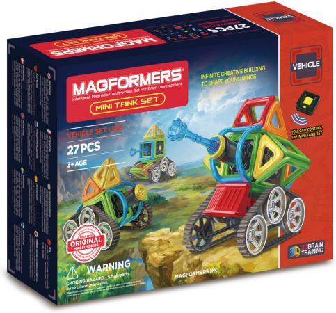Магнитный конструктор Magformers Mini Tank Set 27 элементов 707010 магнитный конструктор magformers 707010 mini tank set