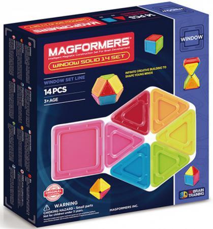 Магнитный конструктор Magformers Window Inspire 14 элементов 63116 магнитный конструктор magformers window solid 14 элементов 714005