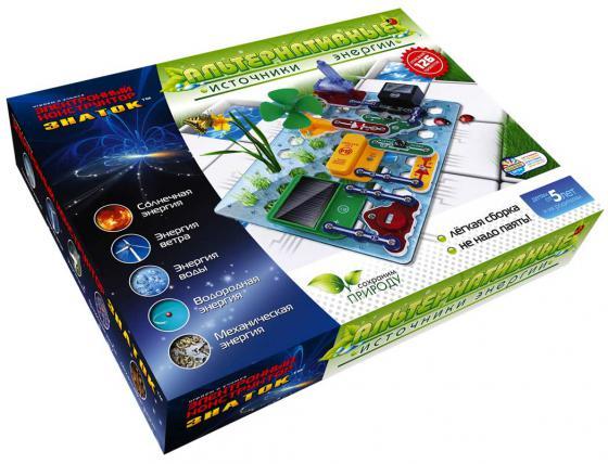 Конструктор Знаток Альтернативные источники энергии 70096 конструктор знаток знаток электронный конструктор альтернативные источники энергии