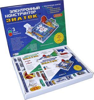 Конструктор Знаток 999 схем+школа 70006