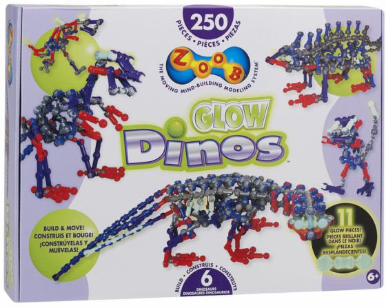 Конструктор ZOOB Glow Dinos 250 элементов 14004 конструктор zoob glow dinos 250 элементов 14004