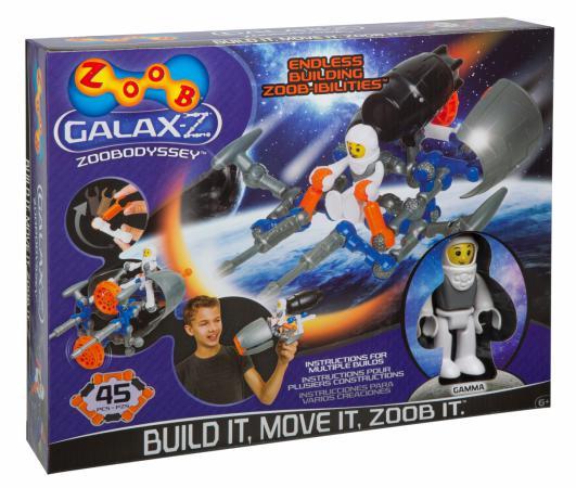Конструктор ZOOB Galax-z Odyssey 45 элементов 160220-3 конструктор zoob galax z lunar pathfinder 160210 3
