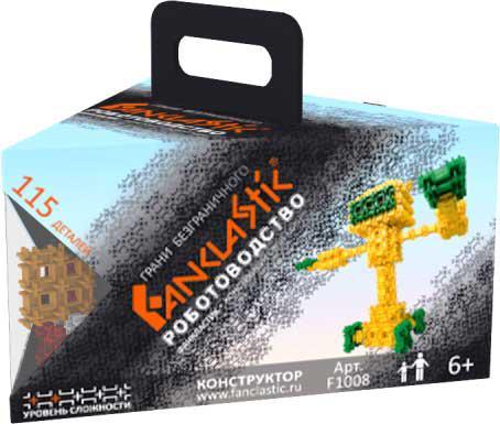 Конструктор Fanclastic Роботоводство 115 элементов F1008 конструктор fanclastic f1006 зоозаврика