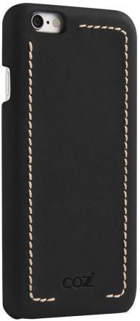все цены на Накладка Cozistyle Leather Wrapped Case для iPhone 6S Plus чёрный CLWC6+010 онлайн