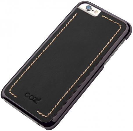 цена на Чехол Cozistyle Leather Chrome Case для iPhone 6s черный CLCC61020