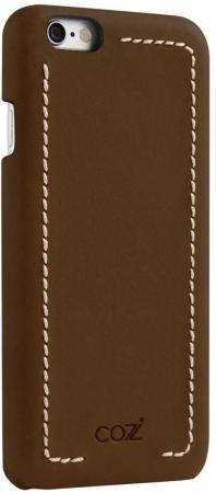 Накладка Cozistyle Leather Wrapped Case для iPhone 6S Plus коричневый CLWC6+012 накладка cozistyle leather wrapped case для iphone 6s коричневый clwc6012