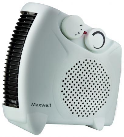 Тепловентилятор Maxwell MW-3453(W) 2000 Вт белый цена 2017