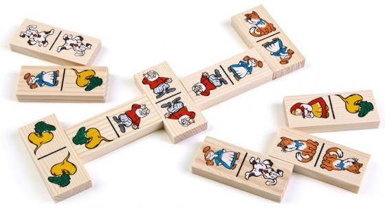 Настольная игра домино Томик Репка 5555-6 airis press настольная игра волшебный театр репка теремок