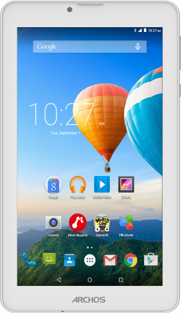 Планшет ARCHOS 70 Xenon Color 7 8Gb белый Wi-Fi 3G Bluetooth Android 503179 503179 archos 101c xenon 3g [503428] 10 1280x800 ips 1gb 32gb mediatek mt8321 mali 400 mp2 2xsim micro usb microsd camera wi fi bt 4500mah android 7 0