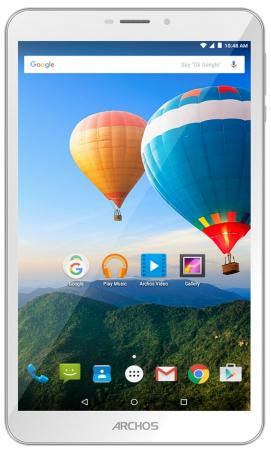 Планшет ARCHOS 80d Xenon 8 16Gb White Wi-Fi 3G Bluetooth Android 503181 archos 101c xenon 3g [503428] 10 1280x800 ips 1gb 32gb mediatek mt8321 mali 400 mp2 2xsim micro usb microsd camera wi fi bt 4500mah android 7 0