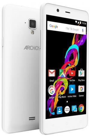Смартфон ARCHOS 50 Titanium 4G белый 5 8 Гб LTE Wi-Fi GPS 503251 archos 40d titanium