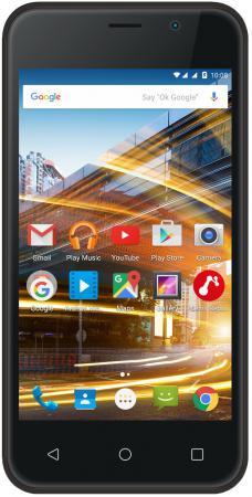Смартфон ARCHOS 40 Neon черный 4 8 Гб Wi-Fi GPS 3G 503144 смартфон micromax q334 canvas magnus черный 5 4 гб wi fi gps 3g