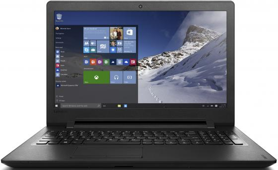 Ноутбук Lenovo IdeaPad 110-15ACL 15.6 1366x768 AMD E-E1-7010 500 Gb 2Gb AMD Radeon R2 черный Windows 10 80TJ0055RK lenovo lenovo ideapad 110 15 6 amd e series 4гб ram wi fi sata bluetooth нет