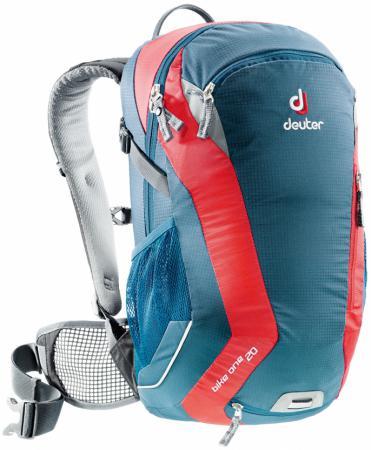 Велорюкзак Deuter Bike One 20 л синий красный велорюкзак deuter giga bike с отделением для ноутбука 28 л 80444 3980 сине голубой