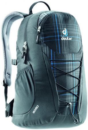Рюкзак Deuter GO GO 25 л 81213-7260 серо-синяя клетка deuter giga blackberry dresscode
