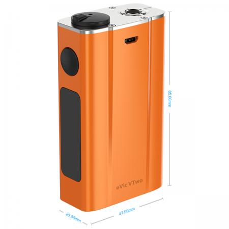 Батарейный мод Joyetech eVic Vtwo 80 W 5000 mAh оранжевый + клиромайзер Cubis Pro vapor electronic cigaratte rofvape witcher box mod 75w tc kit with atomizer airflow vaporizer vs evic vtwo min istick pico mega
