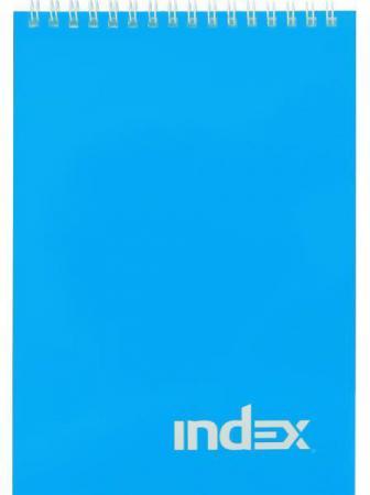 Блокнот Index Сolourplay A5 40 листов INLcp-5/40bu блокнот index сolourplay a5 40 листов