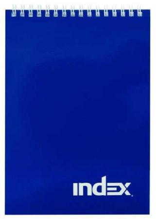 Блокнот Index Office classic A5 40 листов INLcl-5/40bu блокнот index in0201 a540 a5 40 листов в ассортименте in0201 a540