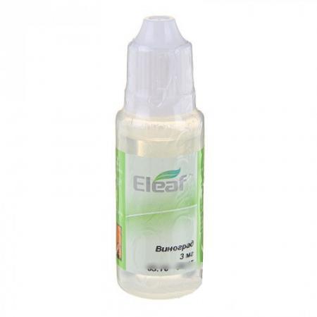 где купить Жидкость для заправки электронных сигарет Eleaf Виноград 3 mg 20 мл по лучшей цене