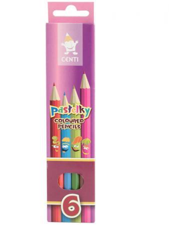 Набор цветных карандашей Koh-i-Noor 2141/6 6 шт набор угольных карандашей koh i noor gioconda 3 шт