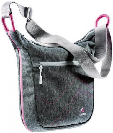 Сумка Deuter Pannier city 7 л серый розовый 85134-7511 сумка с отделением для ноутбука deuter pannier 14 л бирюзовый черный 85093 7321