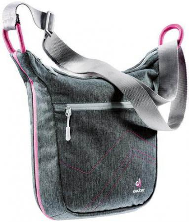 Сумка Deuter Pannier city 7 л серый розовый 85134-7511 сумка поясная deuter organizer belt цвет черный серый 1 8 л