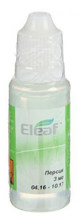 где купить Жидкость для заправки электронных сигарет Eleaf Персик 3 mg 20 мл по лучшей цене