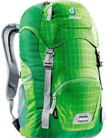 Школьный рюкзак Deuter JUNIOR 18 л зеленый 36029-2008 deuter family junior