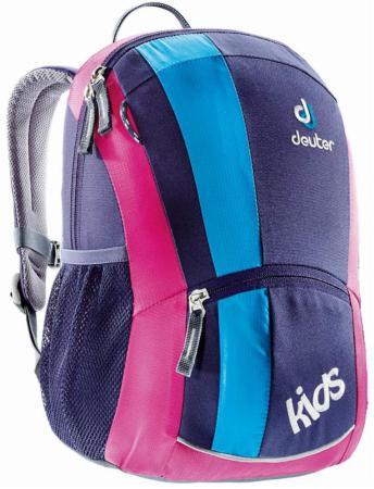 Школьный рюкзак Deuter KIDS 12 л розовый фиолетовый голубой 36013-5013 deuter kids ocean