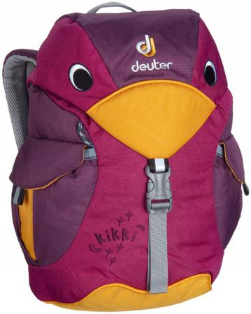 Дошкольный рюкзак ортопедический Deuter KIKKI 6 л фиолетовый 36093-5505 рюкзак deuter gogo xs 2017 18 cranberry coral