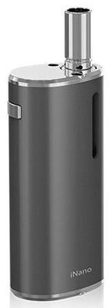 Электронная сигарета Eleaf INano Kit 0.8 мл 650 mAh серый электронная сигарета eleaf ijust 2 mini 1100 mah стальной