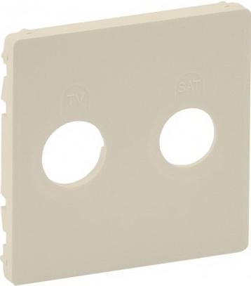 Лицевая панель Legrand Valena Life для розеток TV-SAT слоновая кость 754821 цена 2017