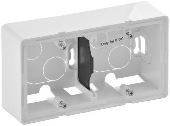 Коробка Legrand Valena Life для накладного монтажа 2-постовая белый 754192 коробка legrand valena life для накладного монтажа 1 постовая слоновая кость 754201