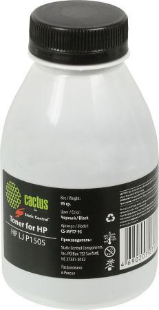 Тонер Cactus CS-MPT7-95 для HP LJ P1505 черный 95гр hp ce252a yellow для lj cp3525cm3530 7000стр