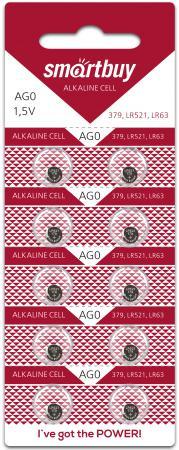 Батарейки Smart Buy AG0-10B LR63 10 шт SBBB-AG0-10B